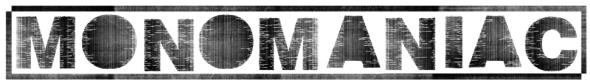 MONOMANIAC comp.EP series by Blastbeat Mailmurder