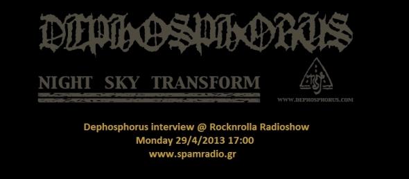 Dephosphorus @ Rocknrolla Radioshow