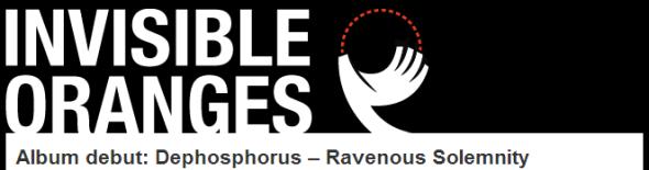 """Ravenous Solemnity"" streaming now @ http://www.invisibleoranges.com/2014/02/album-debut-dephosphorus-ravenous-solemnity/"